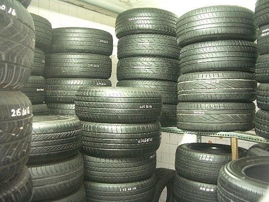 二手汽车轮胎